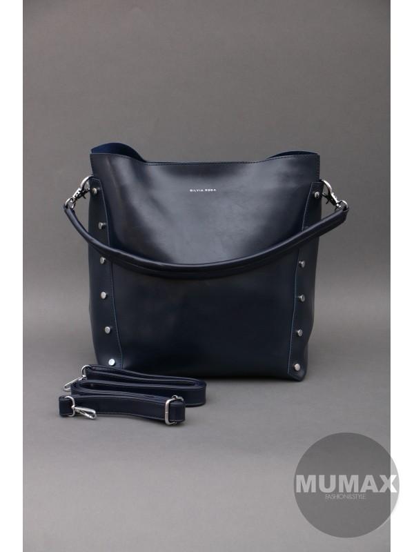 Modrá kabelka Silvia