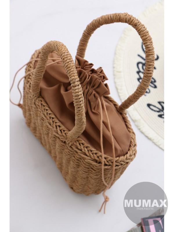 Módna ratanová kabelka