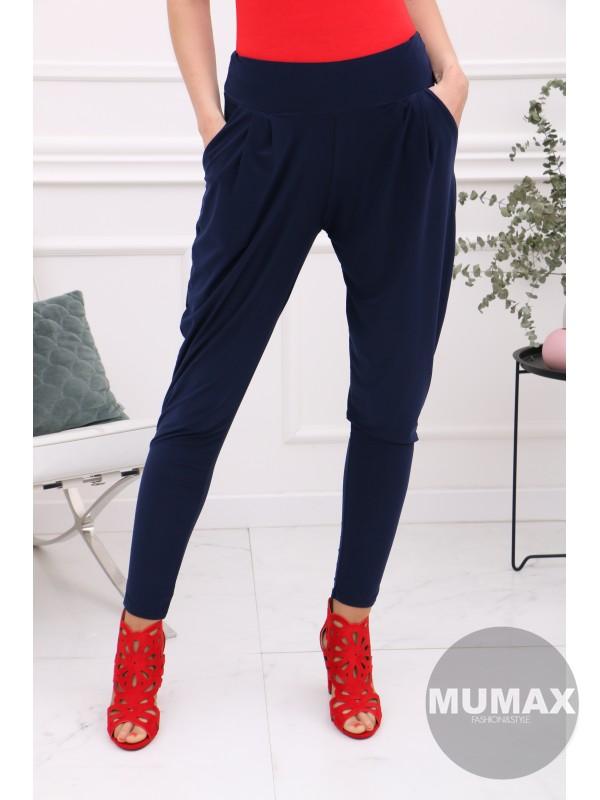 Modré nohavice