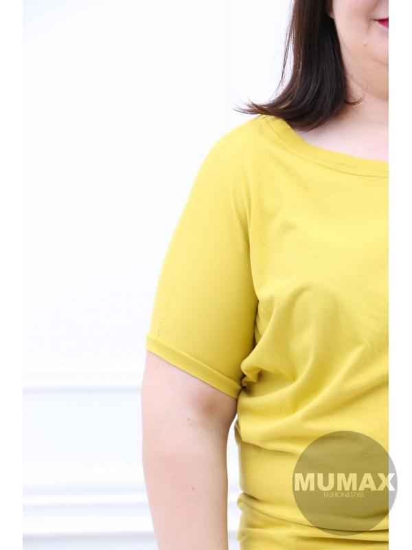 Dámske žlté tričko