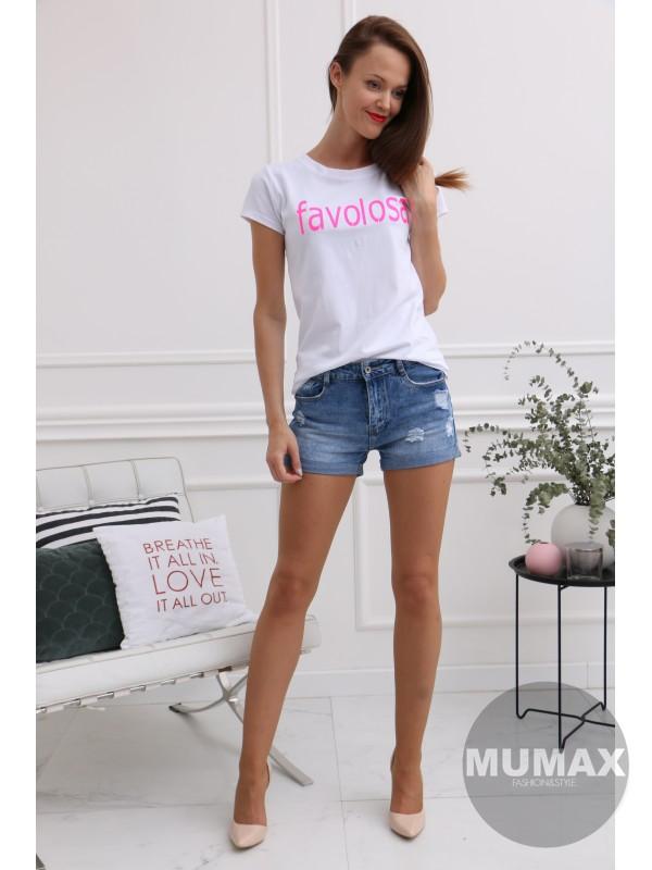 Biele tričko favolosa