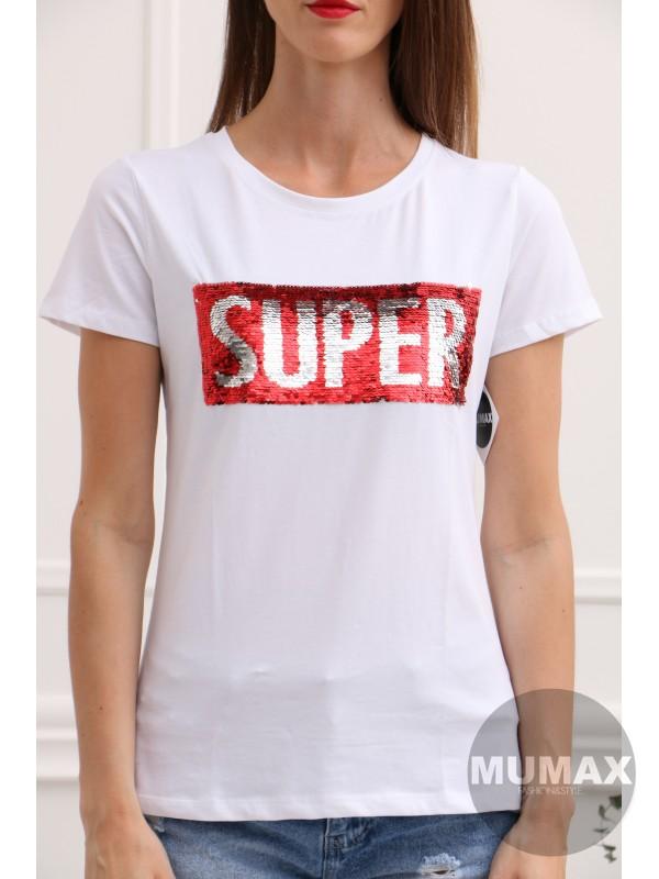 Biele tričko SUPER