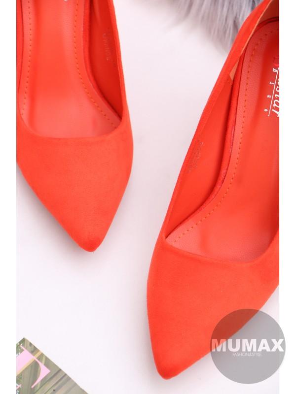 Oranžové lodičky