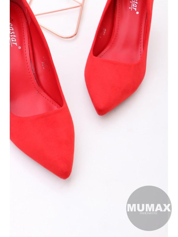 Červené lodičky