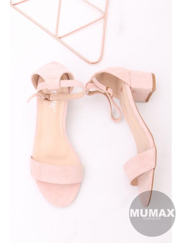 Ružové sandále