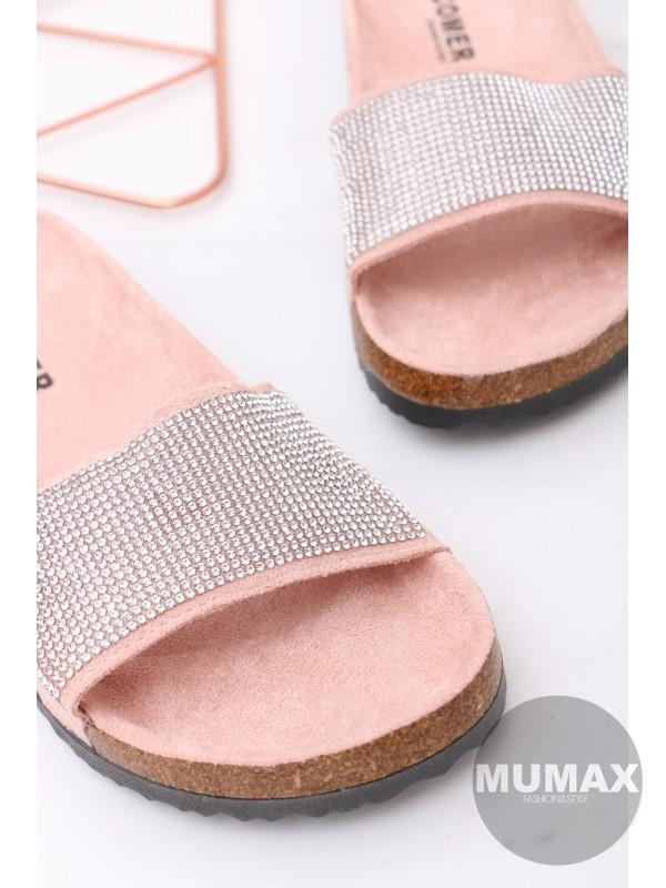 Dámske šľapky pink