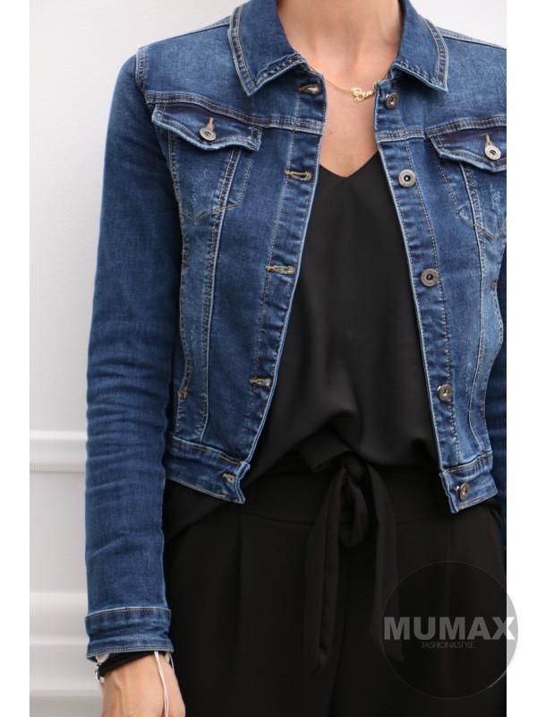 Dámska rifľová bunda