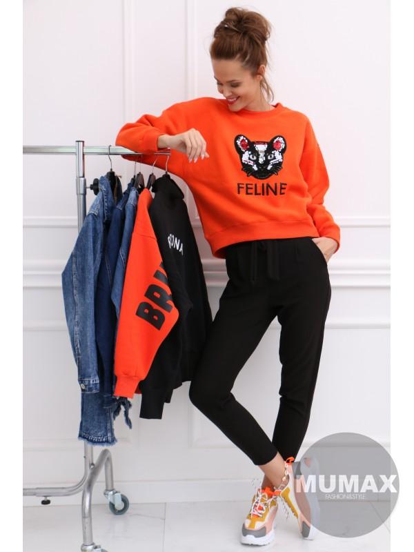 Mikina FELINE Orange