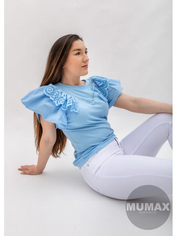 Tričko so zdbenými rukávmi