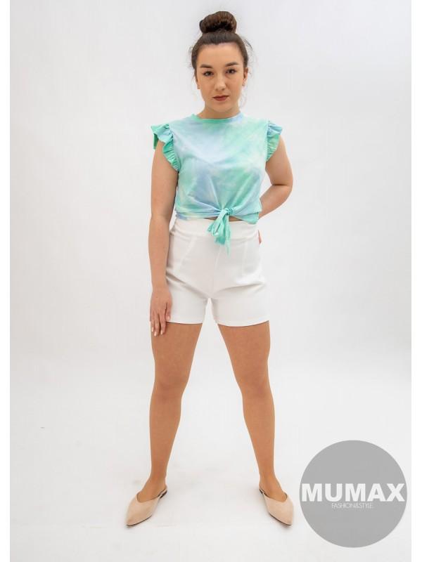 Batikované tričko Crop-top